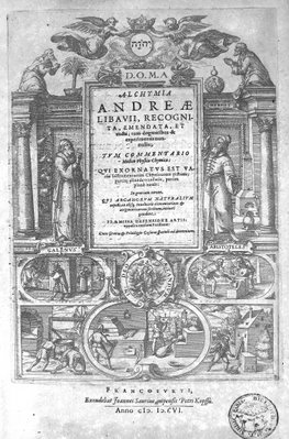 De Lapide Philosophorum - Titlepage