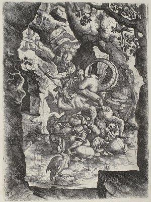 Tuscany engraving 1598