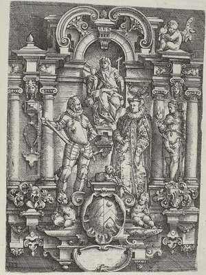 Ionic engraving 1598