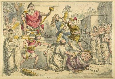 Tarquinius Superbus makes himself King