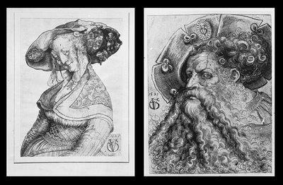Soldatendirne 1525 and Landsknechtskopf 1521