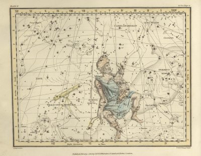 Map of the Stars - 1822