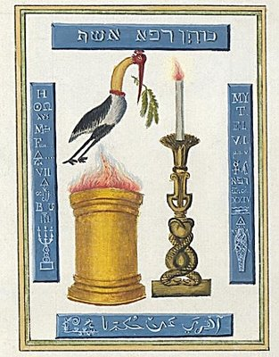 Ibis Pyre and Candle