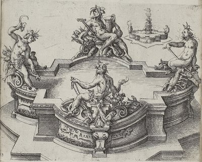 Ionic engraving by Dietterlin