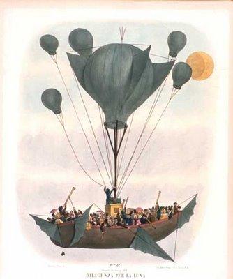 Leopoldo Galluzzo Altre Scoverte Fatte Nella Luna dal Sigr. Herschel or Great Astronomical Discoveries, 1836
