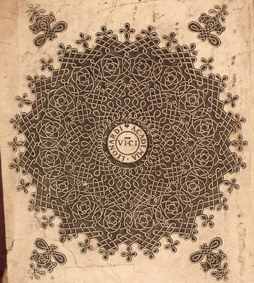 Annals of Ulster knotwork bookplate