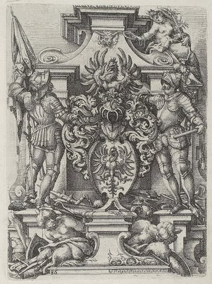 Doric engraving by Dietterlin 1598 - baroque