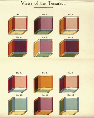 Tessaract cubes of Charles Hinton
