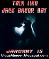 Talk Like Jack Bauer Day Poster