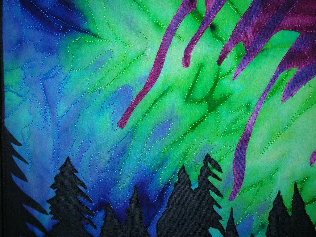 Northern Lights Fabric : Fast friday fabric challenge northern lights