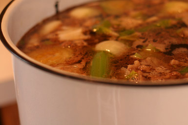 Kalyn's Kitchen®: How to Make Beef Stock