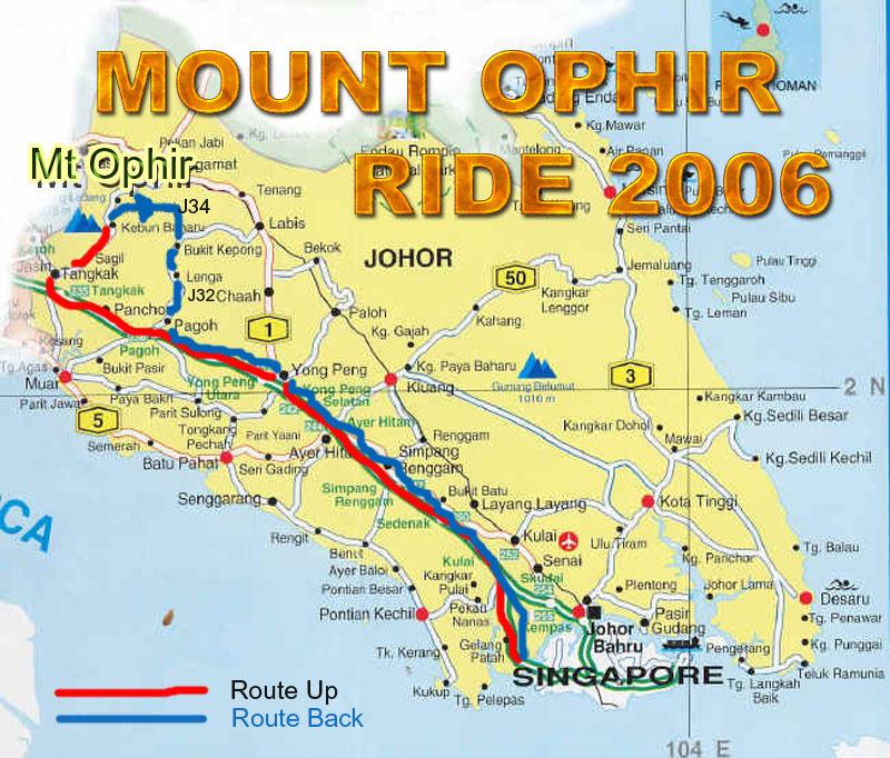 Loud Exhaust's Blog: Ride to Mount Ophir 2 Dec 2006