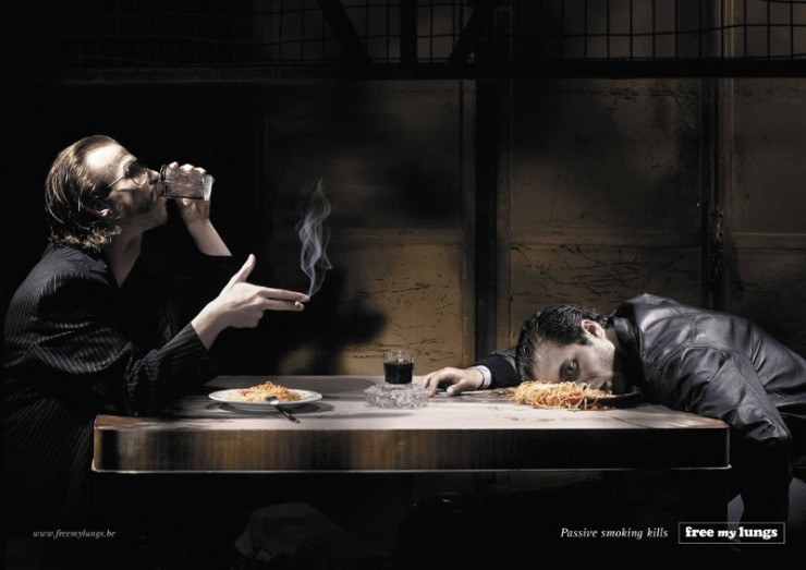 Passive Smoking Ad