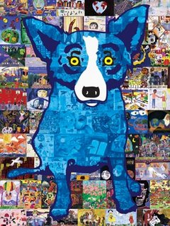 Honesty, by George Rodrigue ©2003