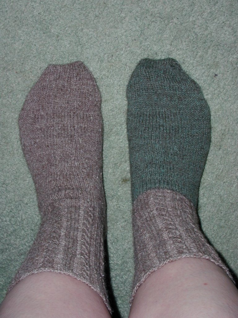 Alpaca Left-Over Socks