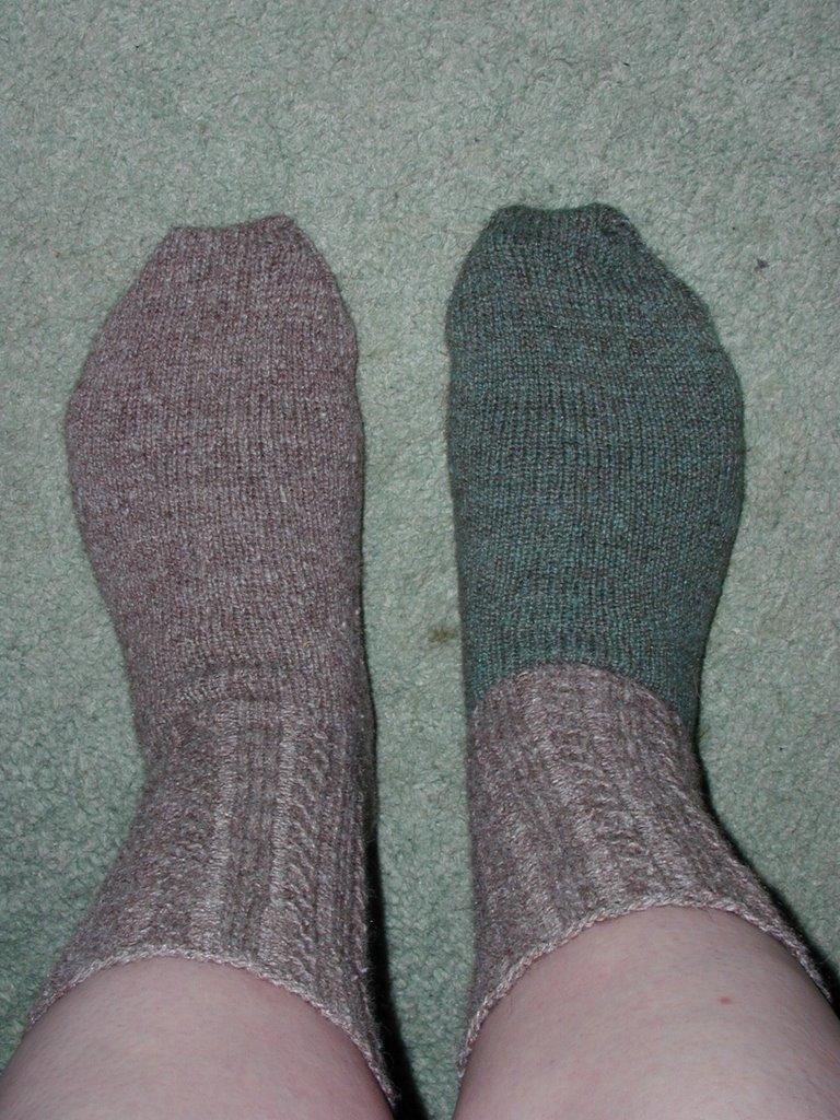 Alpaca Left-Over Socks