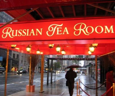 The Russian Tea Room NYC