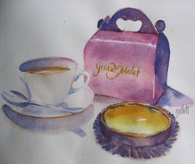 gerard Mulot's new pink pastry box