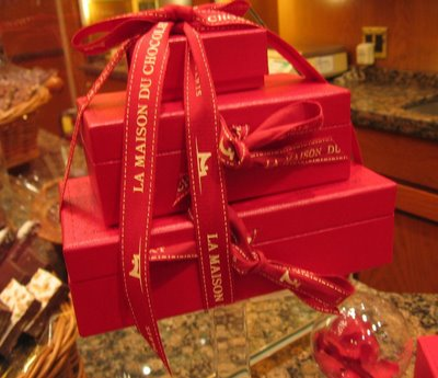 La Maison du Chocolat Valentine special valise