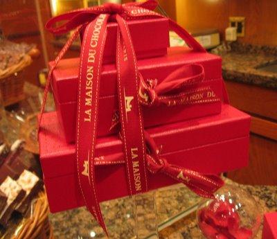 La Maison du Chocolat Valentine special valise