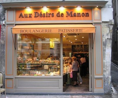Aux Désirs de Manon is at 129 rue St-Antoine in the Marais