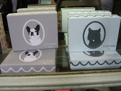 Laduree cats and dogs