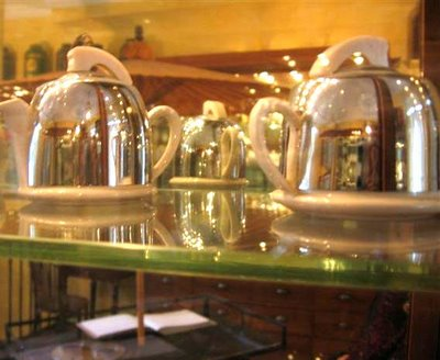 Art Déco tea pots