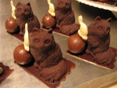 Salon du Chocolat Chats