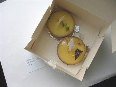 Saduharu Tarte au Citron
