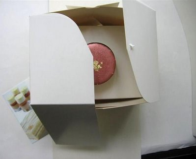 Pierre Hermé's pastry box opens like flower petals