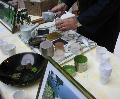 Green tea tasting at Le Festival de The