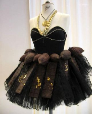 Edible dress...