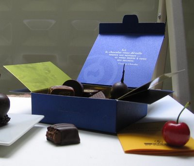 Cacao et Chocolat candy box