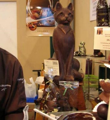 Salon du Chocolat cat