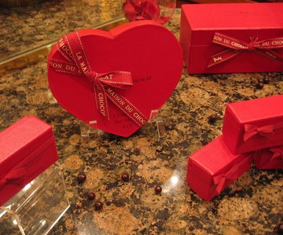 La Maison Du Chocolat Saint-Valentin candy box