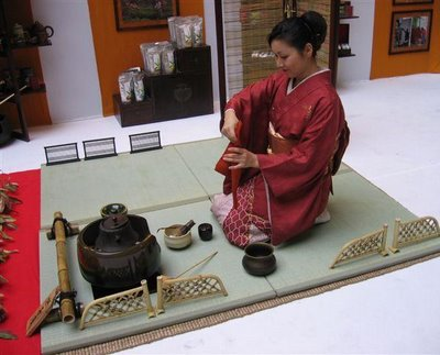 Janpanese tea ceremony at Le Festival de The