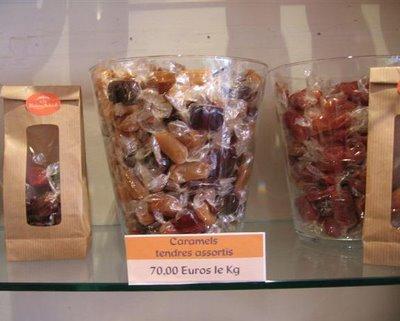 A La Reine Astrid's caramels on rue de Cherch-Midi