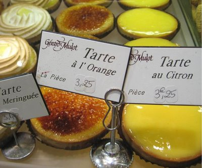 Tarte Citron for breakfast...