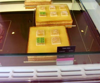 Fauchon squared Tarte au Citron