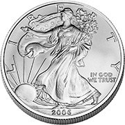 picture of silver coin