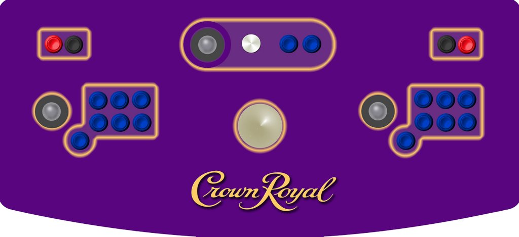 Crown Royal Arcade Machine