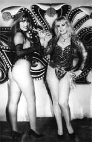 Iris Loza y Susy Díaz