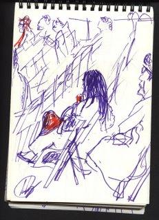 dibujo II Festival de artes escénicas - Madrid
