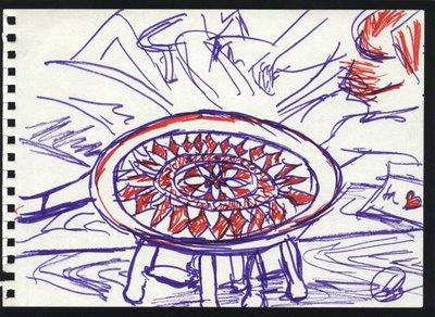 dibujo Granada - Plato