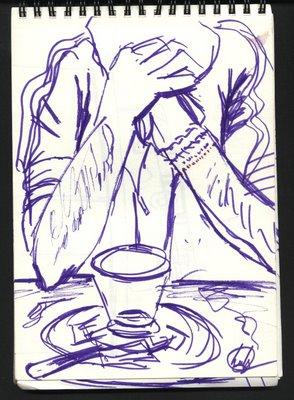 dibujo granada Café irlandés