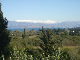 snowcapped albania