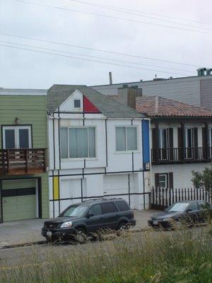 mondrian maison
