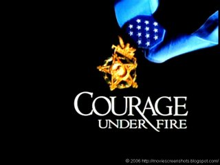 a review of courage under fire a gulf war movie by edward zwick Courage under fire is a riveting gulf war drama patterned after rashomon review one rare exception is 1996's courage under fire, directed by edward zwick and.