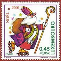 St Nicholas stamp