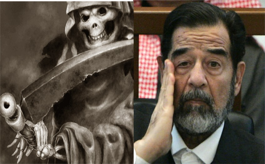 SPANK CHEEKS: December 2006 Saddam Hussein